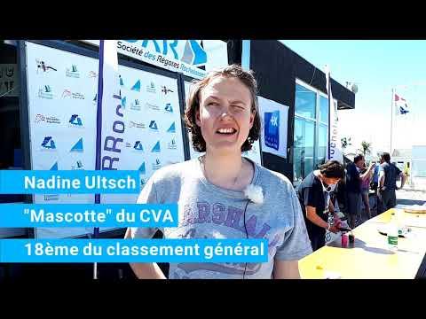 National de printemps 2019 - interview Nadine Ultsch - Cercle de la Voile d'Arcachon