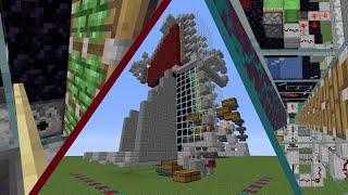 Minecraft AFK nether tree farm + tutorial 2334 trees an hour