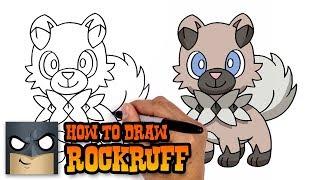 How to Draw Rockruff | Pokemon (Art Tutorial)