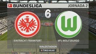 Fifa 18 | Modo Carrera Mánager | #6 Eintracht Frankfurt vs Wolfsburgo