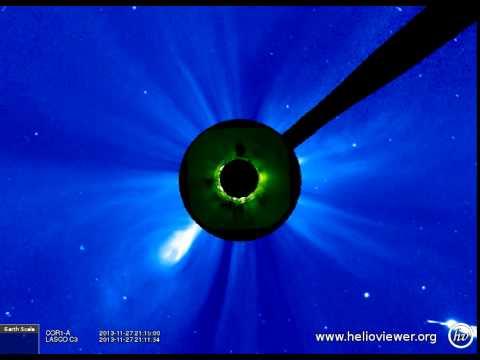 LASCO C3, COR1-A  (2013-11-25 00:10:00 - 2013-12-01 08:59:59 UTC)