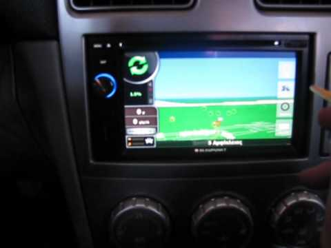 subaru forester 2005 blaupunkt new york 800 multimedia. Black Bedroom Furniture Sets. Home Design Ideas