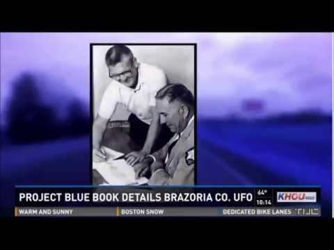 2 Police Officers Report Mile Wide UFO In Brazoria County Texas - CBS