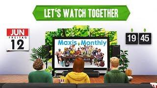 Let's Watch Together LIVE | Die Sims Neuigkeiten im Maxis Monthly Juli 2019