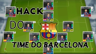 HACK DO TIME DO BARCELONA NO DREAM LEAGUE SOCCER 17!!!