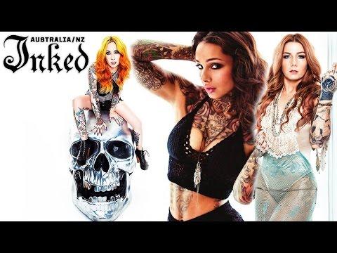 Inked Magazine Photoshoot with Megan Massacre, Teneile Napoli and Cleo Wattenstrom