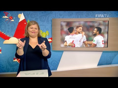 FIFA WC 2018 - PAN vs. TUN – for Deaf and Hard of Hearing - International Sign
