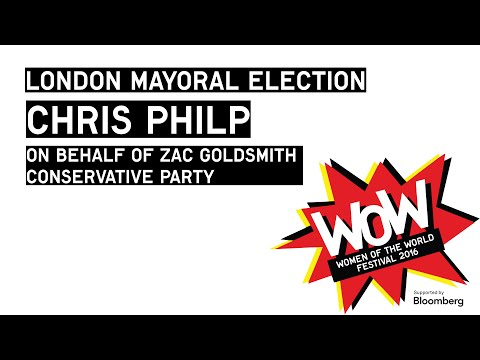 London Mayoral Election - Chris Philp, Conservative Party, at WOW 2016