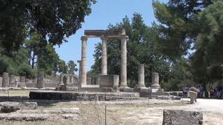 ancient city of olympia in greece