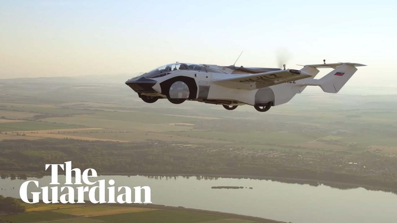 Flying Car makes successful test run between Airports in Slovakia