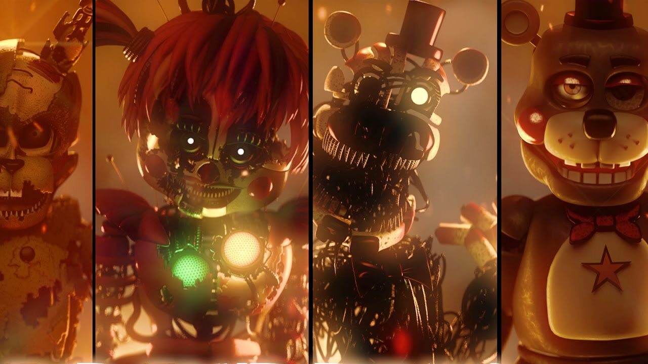 Five Nights at Freddy's Ending Cutscene