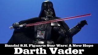 S.H. Figuarts Darth Vader Star Wars: A New Hope Bandai Review