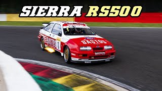 1989 Ford Sierra RS500 Group A - Flame spitting turbo beast
