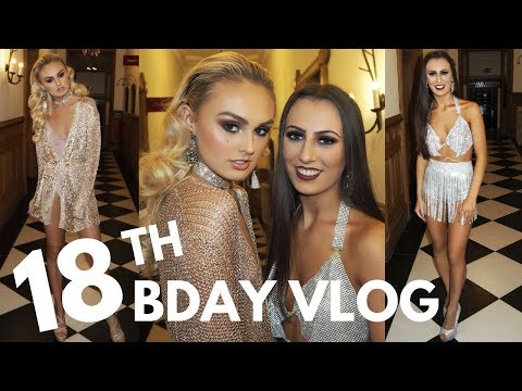 18TH Birthday Vlog !!! Kloe's Bday Bash in Scotland