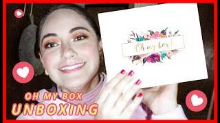 ♥ OH MY BOX UNBOXING | MAQUILLAJE SORPRESA | PAULA RODRIGUEZ ♥