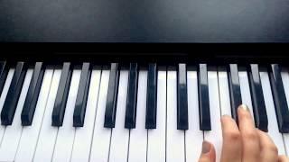Учимся играть на пианино легко! Разбор
