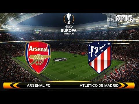 Pes 2018 | arsenal vs atletico madrid | uefa europa league | gameplay pc
