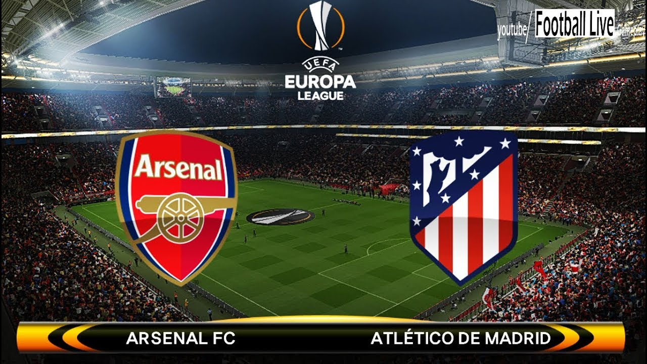 Image result for Arsenal vs Atletico Madrid Live