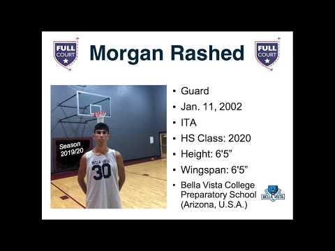 Primi canestri di Morgan Rashed a Bella Vista College Preparatory School (Arizona, U.S.A.)
