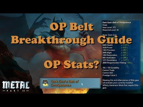 DCUO: OP Belt