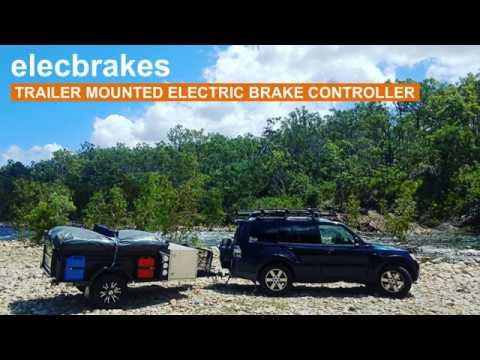 Elecbrake trailer mounted