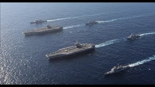 2 US Navy carriers near China flexes Muscle as report warns of rising missile threat