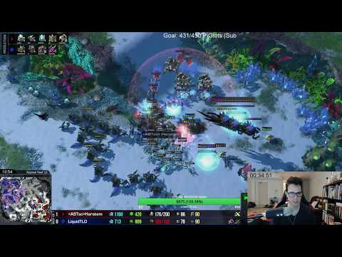 TLO vs Harstem Test Map Showmatch! G1-3