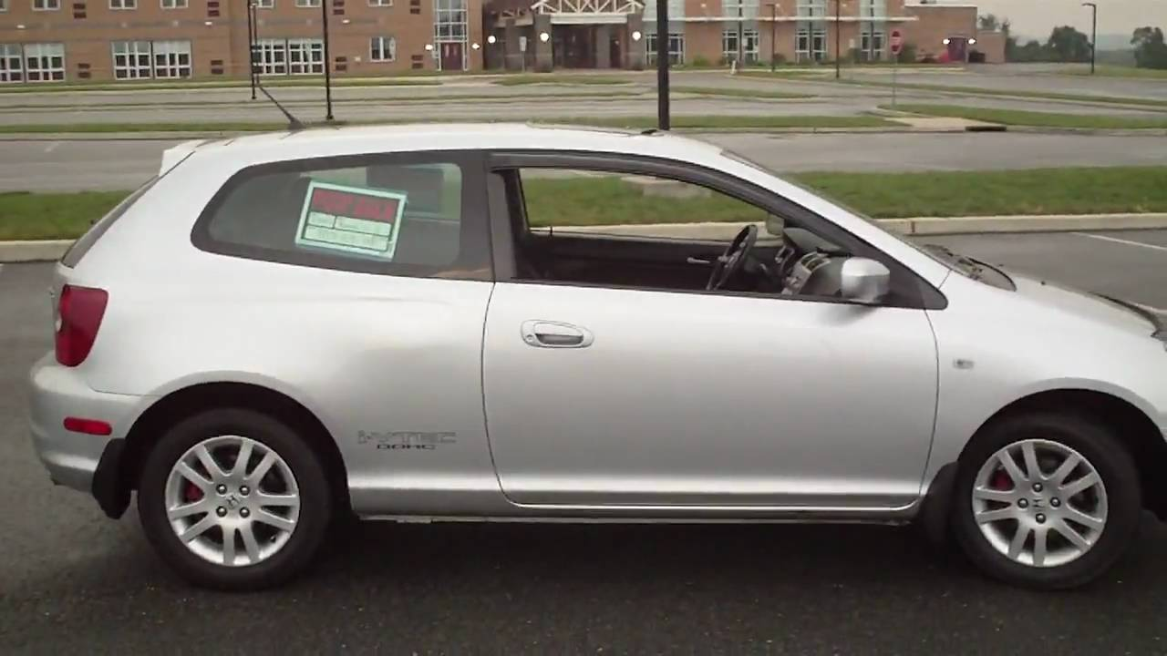 2002 Honda Civic SI FOR SALE EXCELLENT SHAPE  YouTube