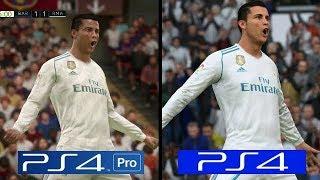 FIFA 18 | PS4 Pro VS PS4 Slim | Graphics Comparison