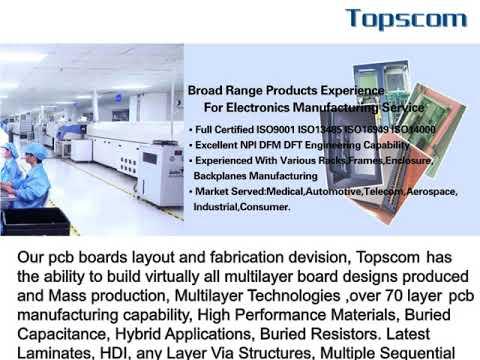 Topscom PCB Assembly / Topscom Precision Industry Co  Limited / Topscom  Electronics Co  Ltd