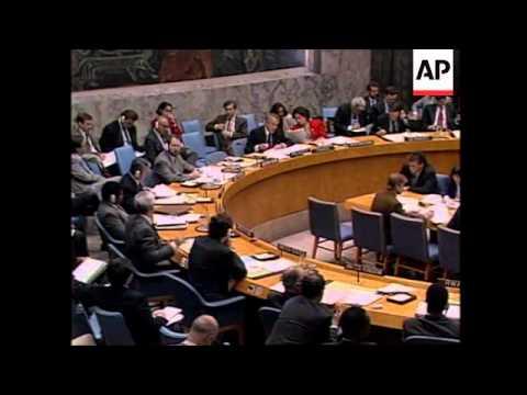 UN: SECURITY COUNCIL TO MAINTAIN ECONOMIC SANCTIONS AGAINST IRAQ