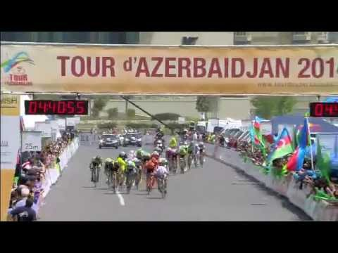 Tour d'Azerbaidjan 2014 Highlights of 5th Stage (Baku -- Absheron Island/Nardaran -- Baku)