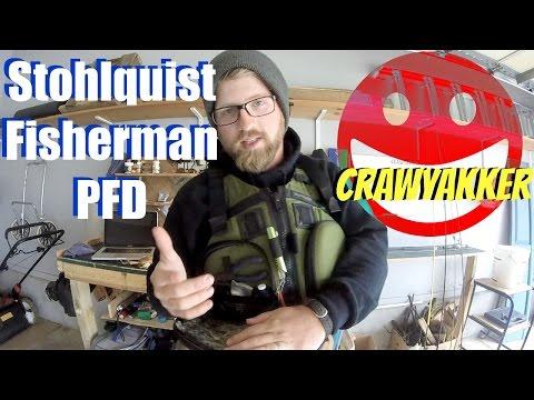 Stohlquist Fisherman PFD Walkthrough