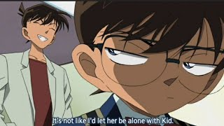 Conan Is Jealous Of Kaito Kid Disguised As Shinichi, Shinichi Is the Impostor LoL [Eng Sub] 720p