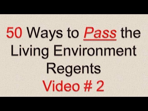 50 ways to pass the living environment regents free