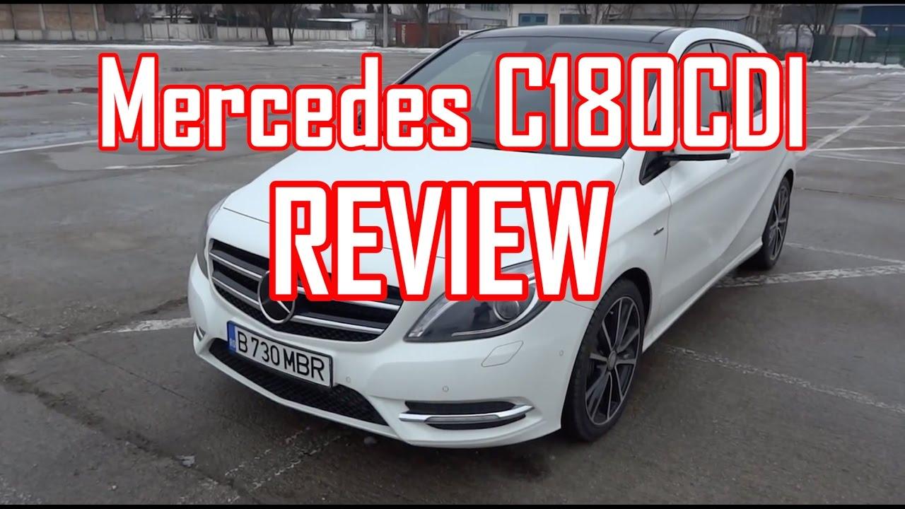 REVIEW- Mercedes B180CDI (www.buhnici.ro )