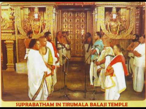 Venkateswara suprabhatam by TTD Veda Pandits YouTube