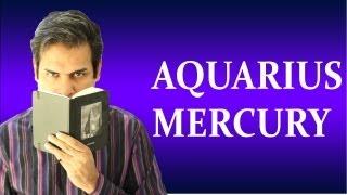 Mercury in Aquarius in Astrology ( All about Aquarius Mercury zodiac sign)