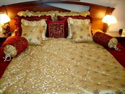 Designer bed linen youtube Bed designs 2016 in pakistan with price