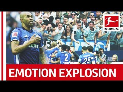 Greatest Fan Celebration In Super Slow Motion - After Unbelievable Free Kick Goal Against Dortmund