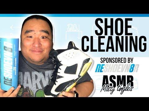 [ASMR] Shoe Cleaning | MattyTingles
