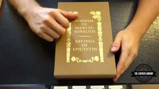 The Wisdom Of Marcus Aurelius & The Sayings Of Epictetus- An Easton Press Review