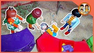 11 ) نانا فقدت الذاكرة في الحديقة 😰  _ يوميات عائلة احمد و زينة _ play mobil