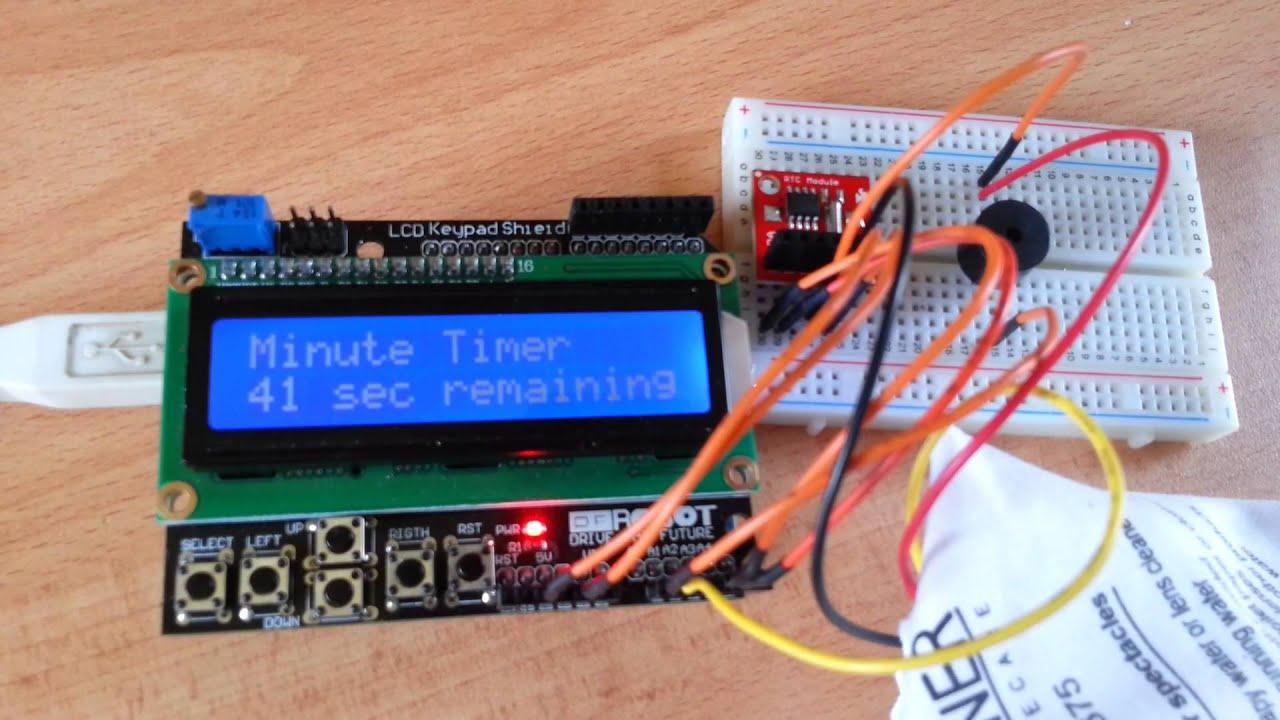 Arduino LCD Clock  YouTube