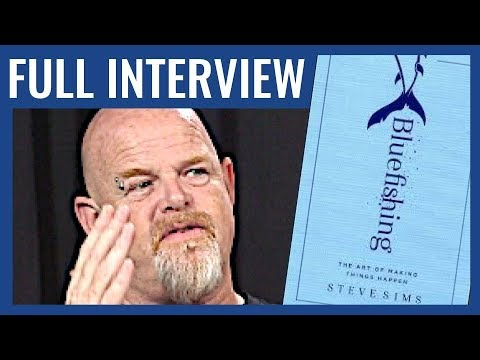 The Secret To Making Things Happen | Steve Sims, Founder Of The Bluefish