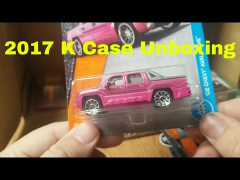 New 2017 K Matchbox Case unboxing let's see what's inside