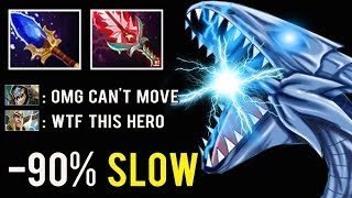 NEW CANCER HERO MID -90% Slow Burn Blue Eyes Dragon 200IQ Stack Farm by TpaBoMaH Top Rank Dota 2