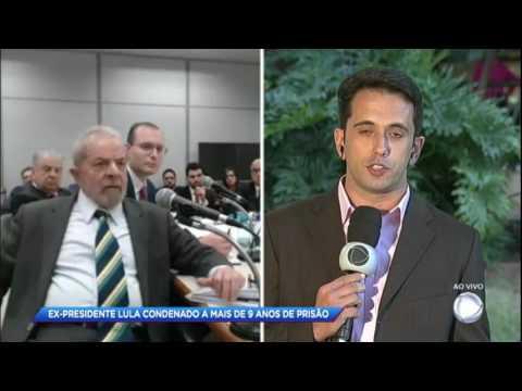 Ex-presidente Lula é condenado a mais de 9 anos de prisão pelo caso do triplex