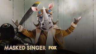 The Clues: Rhino | Season 3 Ep. 14 | THE MASKED SINGER