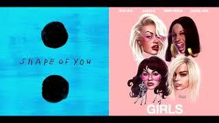 Shaped Girls (Mashup) - Ed Sheeran / Rita Ora ft. Cardi B, Bebe Rexha, Charli XCX
